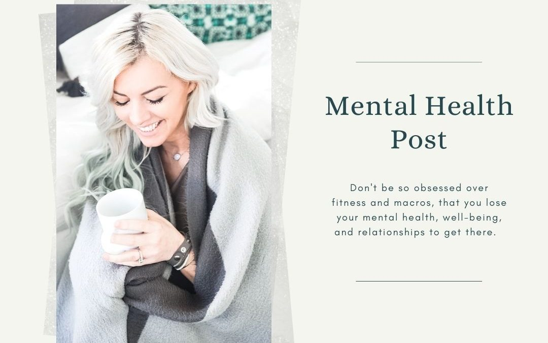 Mental Health Approach to Your Workouts
